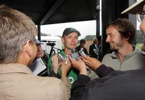 Porterfield speaks to the press back in 2008, shortly after taking over the Ireland captaincy.