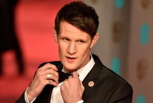 US actor Matt Smith poses on arrival for the BAFTA British Academy Film Awards at the Royal Opera House in London on February 14, 2016.   AFP PHOTO / NIKLAS HALLE'NNIKLAS HALLE'N/AFP/Getty Images