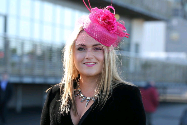 Northern Ireland Festival of Racing at Down Royal Racecourse - Day 1  Race 1 (1:05pm) Eventsec Maiden Hurdle  Grainne McGarvey  Picture by Kelvin Boyes / Press Eye.