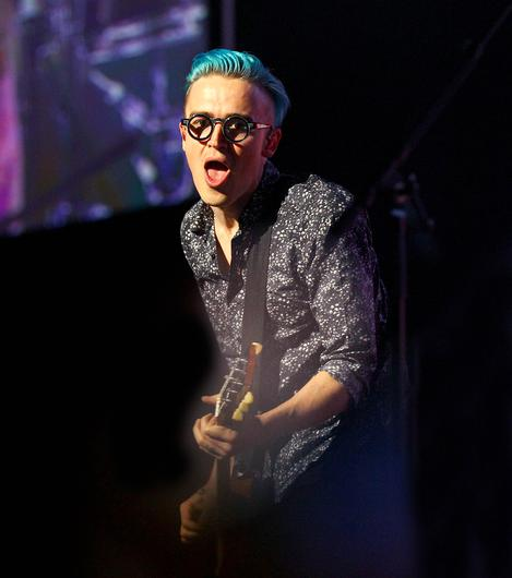 Picture - Kevin Scott / Belfast Telegraph  Wednesday 22nd April 2015 - McBusted concert Odyssey Arena  Pictured is McBusted during their concert held in the Odyssey arena in Belfast   Picture - Kevin Scott / Belfast Telegraph