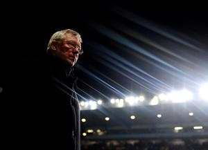 (FILE PHOTO) Manchester United manager Sir Alex Ferguson has announced that he will retire at the end of the season after 26 years in charge. BIRMINGHAM, ENGLAND - FEBRUARY 10: Sir Alex Ferguson of Manchester United walks out during the Barclays Premier League match between Aston Villa and Manchester United at Villa Park on February 10, 2010 in Birmingham, England.  (Photo by Laurence Griffiths/Getty Images)