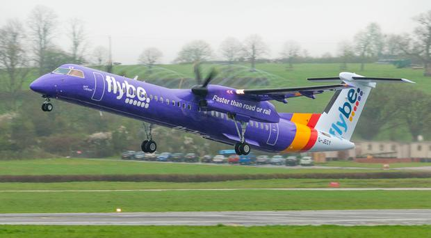 Flybe has a major presence at City airport