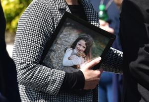 Pacemaker Press 24/8/2020  Picture of Amelia Mullan  Dad John Mullan, 49 and his two children Thomas, aged 14 and Amelia, aged, 6 from Moville tragically died in the horrific road accident after their car plunged into the water in Lough Foyle.  Geraldine (Wife and Mother) managed to get out of the vehicle and sought help.  She was taken to Letterkenny University Hospital with non-life threatening injuries. The family were returning from a day out in Derry when they lost control of their vehicle and crashed down an embankment. Pic Colm Lenaghan/Pacemaker