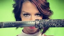 Russia Today news anchor Abby Martin