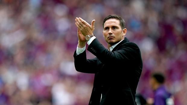 Derby manager Frank Lampard has been linked with a return to former club Chelsea (John Walton/PA)