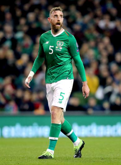 Republic of Ireland defender Richard Keogh met up ahead of the Euro 2020 qualifiers against Denmark and Gibraltar (Niall Carson/PA)