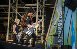 Green Day frontman Billie Joe Armstrong onstage at the Ormeau Embankment, Belfast. Wednesday 28th June 2017 Liam McBurney/RAZORPIX