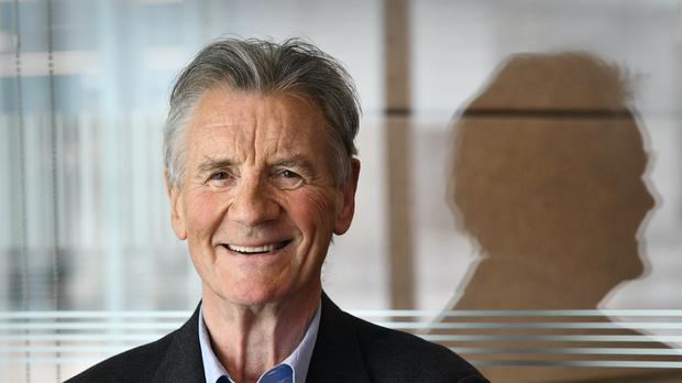 Sir Michael Palin praised the treatment he has received under the NHS (Jeff Overs/BBC/PA)