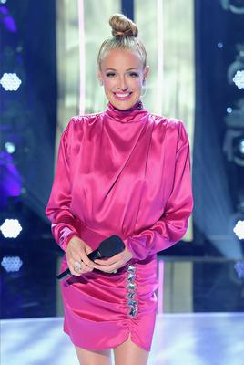 Host Cat Deeley on SO YOU THINK YOU CAN DANCE. (Photo by FOX via Getty Images)