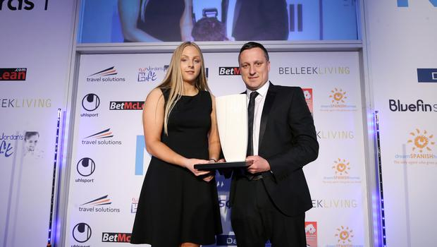 Press Eye - Belfast - Northern Ireland - 7th May 2018  -   NI Football Awards at the Crowne Plaza Hotel.  
