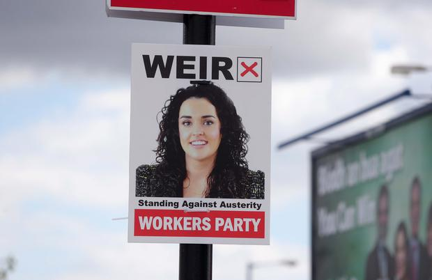 Gemma Weir of the Workers Party
