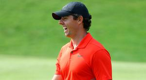 Rory McIlroy will be happy with his first two rounds in Shanghai.