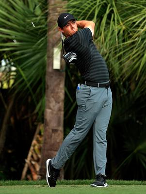 Eagle eye: Rory McIlroy is approaching this week's Honda Classic with confidence in his game