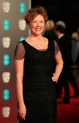 US actress Annette Bening poses on the red carpet upon arrival at the BAFTA British Academy Film Awards at the Royal Albert Hall in London on February 18, 2018. / AFP PHOTO / Daniel LEAL-OLIVASDANIEL LEAL-OLIVAS/AFP/Getty Images