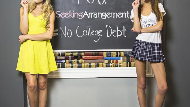 Promotional image for the Seeking Arrangement website