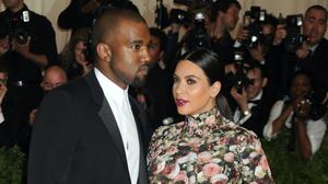 Kanye West and Kim Kardashian (Denis Van Tine/PA)