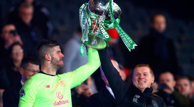 Celtic manager Neil Lennon knew he had goalkeeper Fraser Forster to thank for his side's League Cup final victory.