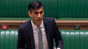 Chancellor of the Exchequer Rishi Sunak delivers a summer economic update in a statement to the House of Commons, London. Credit:  House of Commons/PA Wire
