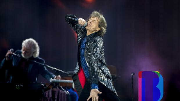 Mick Jagger of the Rolling Stones on stage at Croke Park, Dublin for their first night of their 'STONES - NO FILTER' 2018 tour. Thursday 17th May 2018. Credit: Liam McBurney/RAZORPIX