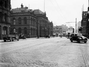 New' Petty Sessions Court, Victoria St. Belfast.  27/4/1943 Belfast Telegraph Collection/NMNI