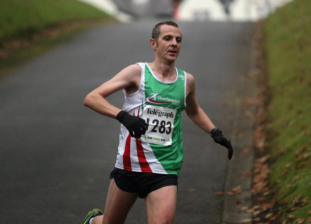 Mandatory Credit - Picture by Freddie Parkinson/Press Eye © Saturday 3rd December 2016 Belfast Telegraph Run Forest Run Loughgall. Loughgall Country Park, 11-14 Main Street, Loughgall, Armagh.  Colin Drain 10K Belfast