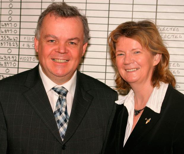 John Dallat with wife Anne
