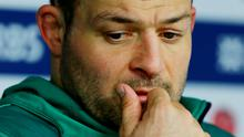 Rueful mood: Rory Best pointed to missed chances