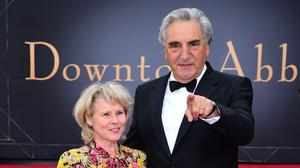 Imelda Staunton and Jim Carter (Ian West/PA)