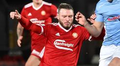 Kevin Braniff has agreed to the termination of his Portadown contract.