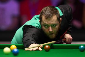 Lining it up: Mark Allen will aim to win a second Masters title