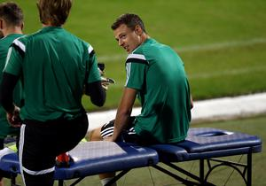 Out: Jonny Evans is unavailable for Northern Ireland's double header