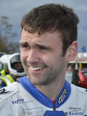 Mandatory Credit: Rowland White / PressEye Motor Cycling: Tandragee 100 Venue: Tandragee Date: 1st May 2015 Caption: William Dunlop