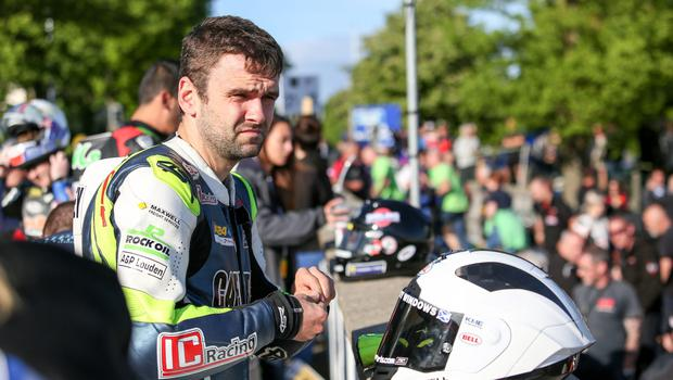 PressEye - Belfast - Northern Ireland - 30th May 2017  Isle of Man TT Practice Week  Pictured: William Dunlop.  Picture: Philip Magowan / PressEye