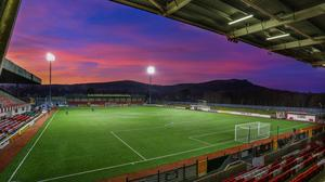 Cliftonville's Solitude stadium.