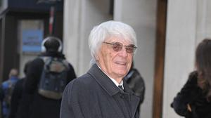 Bernie Ecclestone will be a father again (Nick Ansell/PA)