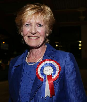 Lady Sylvia Hermon (Independent)  retains her seat in North Down. Picture by Brian Little/PressEye