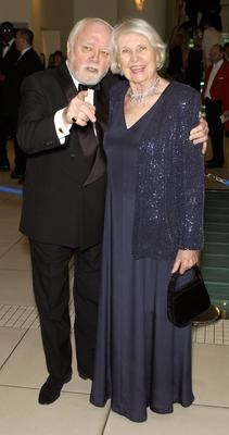 File photo dated 15/2/2004 of Lord and Lady Attenborough arriving at the Orange British Academy Film Awards at the Odeon, Leicester Square in London. The acclaimed actor/director died at lunchtime yesterday aged 90, his son Michael told the BBC. PRESS ASSOCIATION Photo. Issue date: Monday August 25, 2014. See PA story DEATH Attenborough. Photo credit should read: Myung Jung Kim/PA Wire