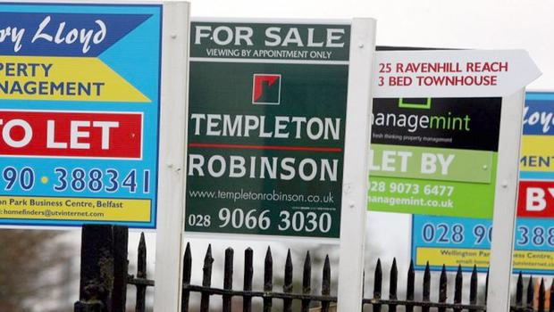 House prices in Northern Ireland have increased again - bringing the average property value here up to £130,026, according to the latest official figures