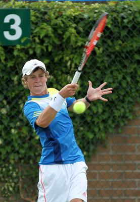 Ireland's call: Peter Bothwell will play in the Davis Cup