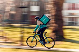 The partnership with Aldi comes after Deliveroo launched services with MandS and Morrisons during the pandemic (Mikael Buck/Deliveroo/PA)