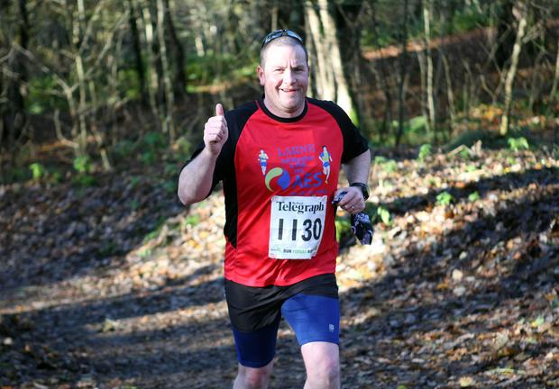 Mandatory Credit - Picture by Freddie Parkinson/Press Eye © Saturday 19th November 2016 Belfast Telegraph Run Forest Run Drum Manor Forest Park, Drum Road, Cookstown BT80 9RT Matthew	Johnston from Ballymena