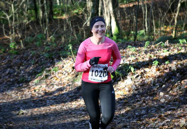 Mandatory Credit - Picture by Freddie Parkinson/Press Eye © Saturday 19th November 2016 Belfast Telegraph Run Forest Run Drum Manor Forest Park, Drum Road, Cookstown BT80 9RT Catherine	McGeown from Dungannon
