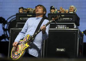 INDIO, CA - APRIL 12:  Singer Gary Mounfield of the band The Stone Roses performs onstage during day 1 of the 2013 Coachella Valley Music & Arts Festival at the Empire Polo Club on April 12, 2013 in Indio, California.  (Photo by Kevin Winter/Getty Images for Coachella)