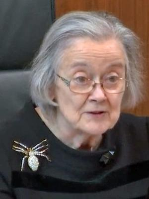 Lady Hale reads out the Supreme Court's judgment