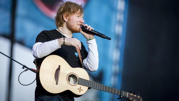 Ed Sheeran performing at Boucher Road Playing Fields, Belfast. Wednesday 9th May 2018. Picture by Liam McBurney/RAZORPIX