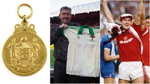 Norman Whiteside's FA Cup medals, Northern Ireland shirt from the 1982 World Cup and Manchester United FA Cup final shirts went under the hammer