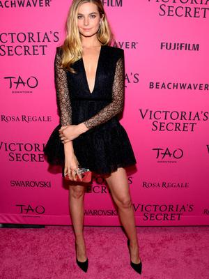 NEW YORK, NY - NOVEMBER 10:  Bridget Malcolm attends the 2015 Victoria's Secret Fashion After Party at TAO Downtown on November 10, 2015 in New York City.  (Photo by Grant Lamos IV/Getty Images)