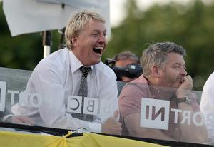 17/7/2013. Pacemaker Belfast. Former Celt and Red Frank McAvennie during this evenings Champions League qualifier first leg game between Cliftonville and Celtic at Solitude, Belfast. Picture Charles McQuillan/Pacemaker.