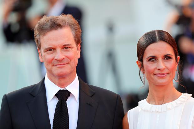 VENICE, ITALY - SEPTEMBER 02:  Colin Firth and Livia Giuggioli attend the premiere of 'Nocturnal Animals' during the 73rd Venice Film Festival at Sala Grande on September 2, 2016 in Venice, Italy.  (Photo by Vittorio Zunino Celotto/Getty Images)