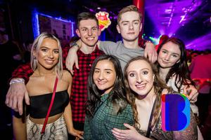 07 Mar 2020 People out at Limelight for AAA Saturdays. (Liam McBurney/RAZORPIX)